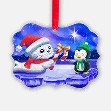 Christmas Seal Ornament