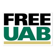 FREE UAB NOW! YARD Sign Postcards (Package of 8)