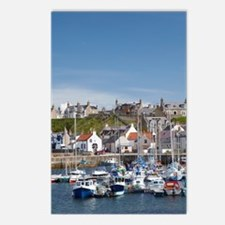 Marina, Findochty, Moray, Postcards (Package of 8)