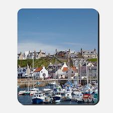 Marina, Findochty, Moray, Scotland, Unit Mousepad