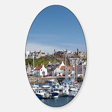 Marina, Findochty, Moray, Scotland, Decal