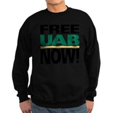 FREE UAB NOW 10x10 Sweatshirt