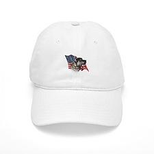 Cane Corso Flag Baseball Cap