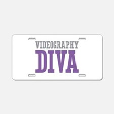 Videography DIVA Aluminum License Plate