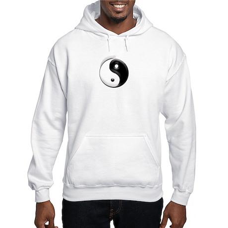 Yin Yang Dragons Hooded Sweatshirt