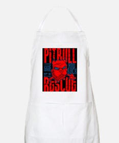 TO HELL AND BACK PITBULL RES BBQ Apron