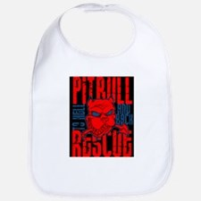 TO HELL AND BACK PITBULL RES Bib