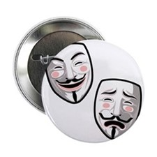 """occupy-hollywood-T 2.25"""" Button"""