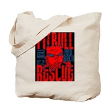 TO HELL AND BACK PITBULL RES Tote Bag