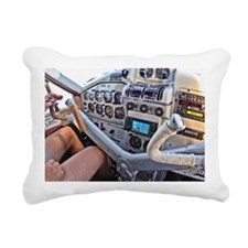 Beaver Cockpit 0252 Post Rectangular Canvas Pillow