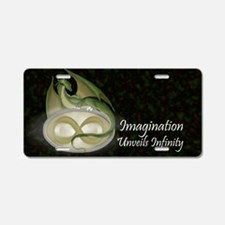 Infinitydragon_shadedbag Aluminum License Plate