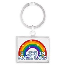Magic Land Landscape Keychain