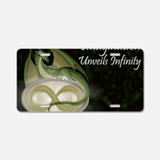 Infinite Imagination Aluminum License Plate