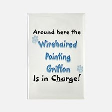 Wirehaired Griffon Charge Rectangle Magnet