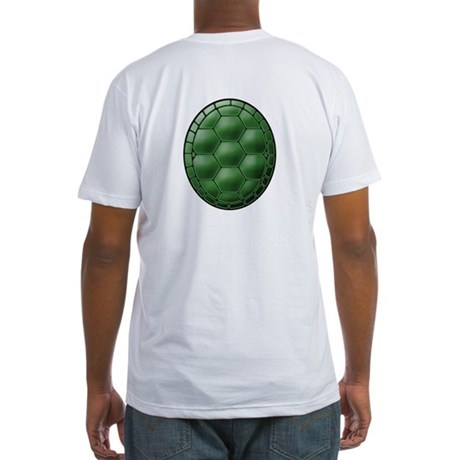 Turtle Shell Fitted T-Shirt