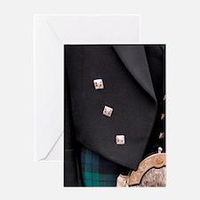 Scotland. Classic Scottish tartan at Greeting Card