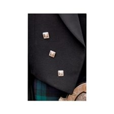 Scotland. Classic Scottish tartan Rectangle Magnet