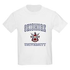 SKIDMORE University Kids T-Shirt