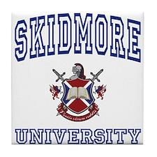 SKIDMORE University Tile Coaster