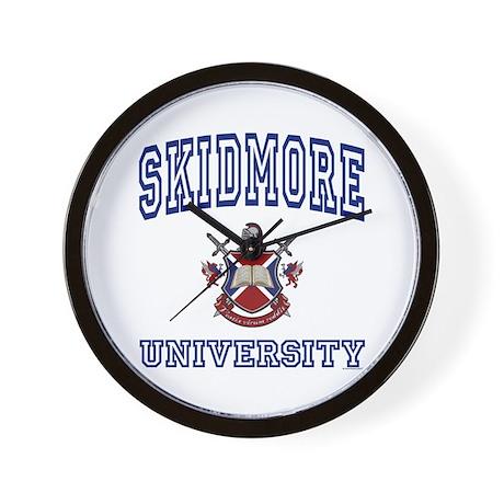 SKIDMORE University Wall Clock