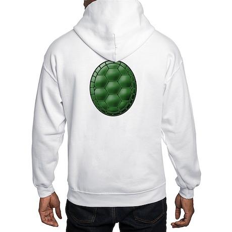 Turtle Shell Hooded Sweatshirt