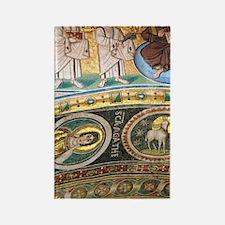 Byzantine Art. Croatia. Euphrasia Rectangle Magnet