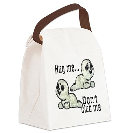 Seals Canvas Lunch Bag