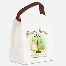Balanced_Karma Canvas Lunch Bag