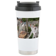 Village of Poljica. Local embro Travel Mug