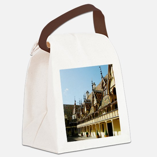 Hospices de Beaune Canvas Lunch Bag