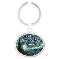 Manuels Oval Keychain