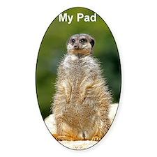 iPad 2 meerkat cover Decal