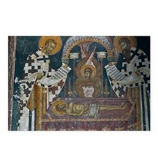 Frescos at 14 Century Vis Postcards (Package of 8)