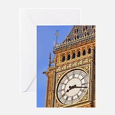 Famous Big Ben clocktower, a London  Greeting Card
