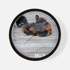 iPad 2 lemur case Wall Clock