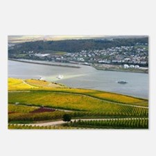 Autumn on Rhine Postcards (Package of 8)