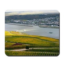Autumn on Rhine Mousepad