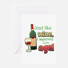 Improve With Age Greeting Cards (Pk of 10)