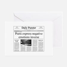 Negative Poets Greeting Card