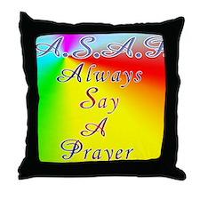 asap8x11 Throw Pillow