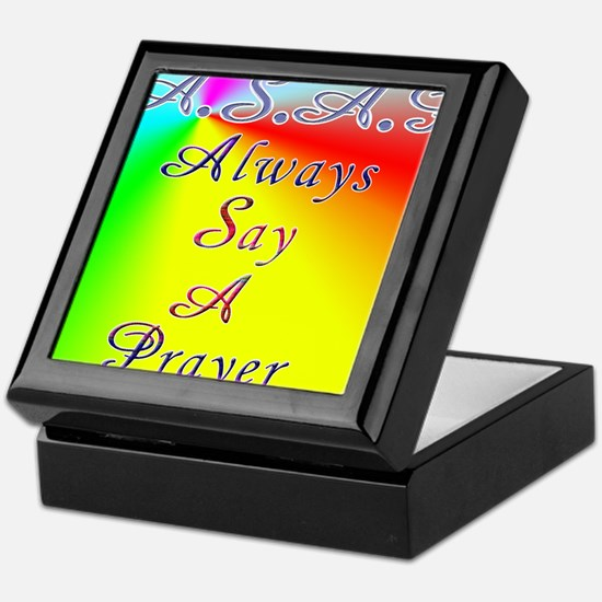 asap8x11 Keepsake Box