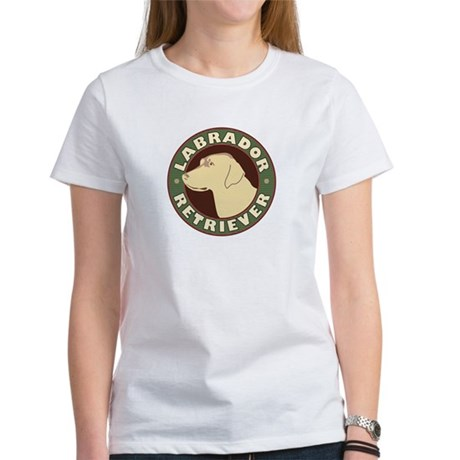 Yellow Lab Crest - Women's T-Shirt