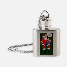 Whats a dreidel? Flask Necklace