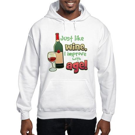 Improve With Age Hooded Sweatshirt