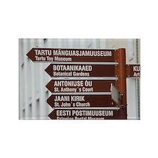 Southeastern Estonia Rectangle Magnet
