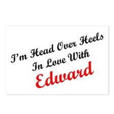 In Love with Edward Postcards (Package of 8)