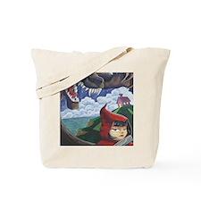 big red frame Tote Bag