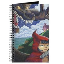 big red frame Journal