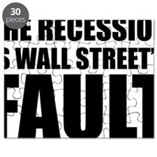 Recesion is Wall Street Fault Puzzle