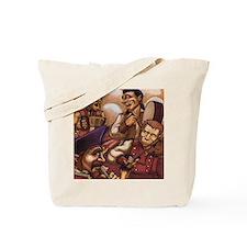 pirates frame Tote Bag